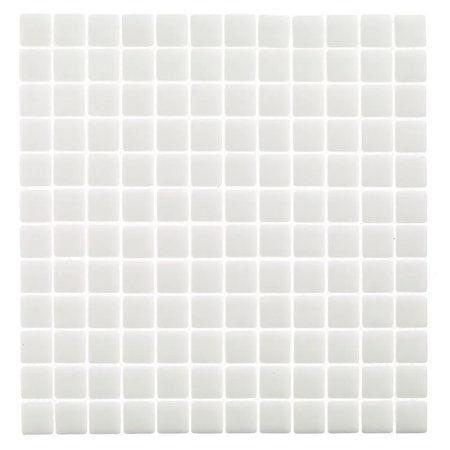 Ψηφίδα Glass White 31x31cm