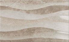 Eleganza Taupe Waves 33x55cm