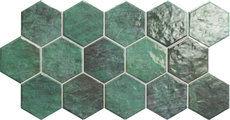 Hex Verde 26x51cm