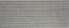 Linen Grey Stripe 25x60cm