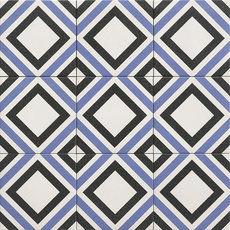 Riga Decor Blue 20x20cm