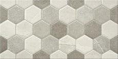 Talo Hive Grey 25x50cm