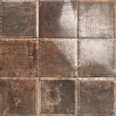 Tin Tile Nero 20x20cm