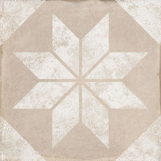 Triana Wall Star Beige 25x25cm
