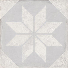 Triana Wall Star Gris 25x25cm
