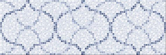 Mosaico Prisma Celeste 20x60cm
