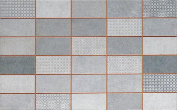 Tokio Antracita Mosaico 25x40cm