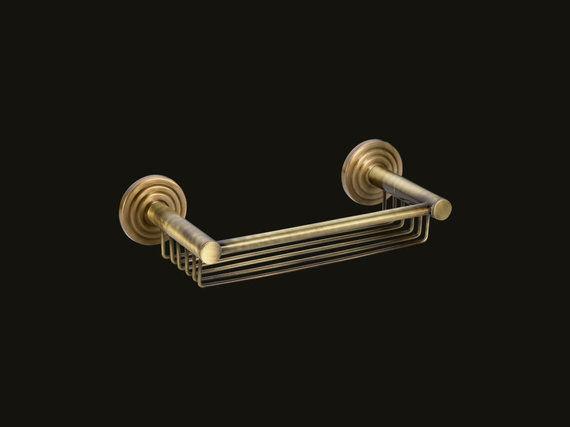Σπογγοθήκη διπλής στήριξης Brass