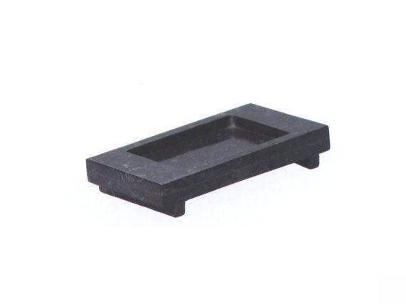 Σαπουνοθήκη ορθογώνια Stone Negro