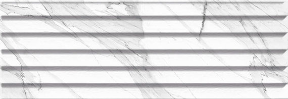 Carrara Relieve Stripe 20x60cm