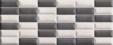 Iron Silver Brick 20x50cm