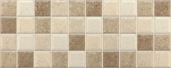 Concrete Noce Mosaic 20x50cm