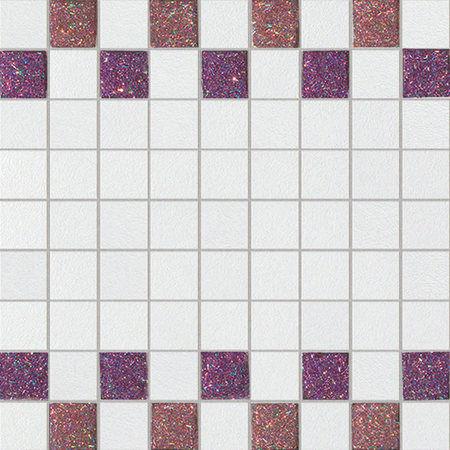 Starlight Roso Bianco 30x30cm