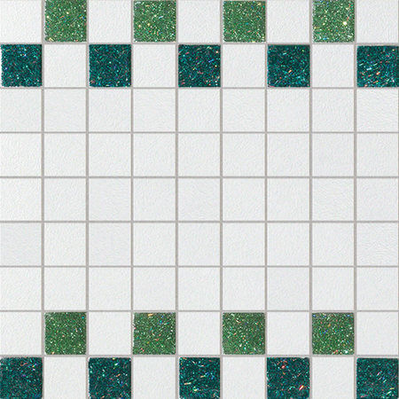 Starlight Verde Bianco 30x30cm