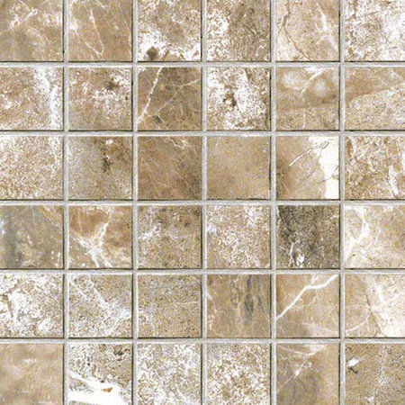 Mosaico Walnut NAT RET 5x5cm