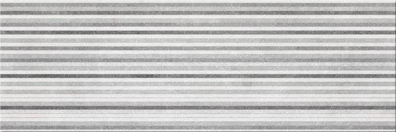 Beton Stripe Gris 20x60cm