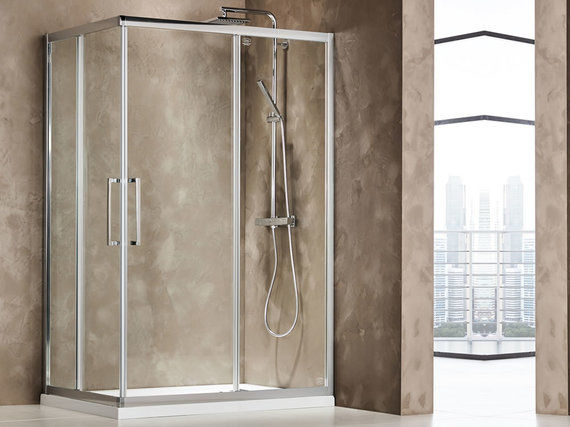 Primus Clean Glass Corner 120x70cm